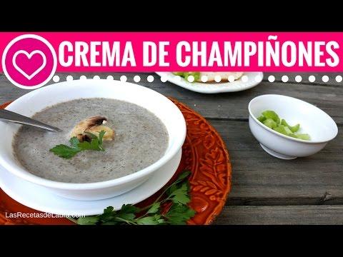 Crema de CHAMPIÑONES Receta Sopa Campbell's – Las Recetas