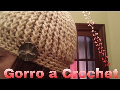 Gorro a Crochet o Ganchillo  20b164554a2