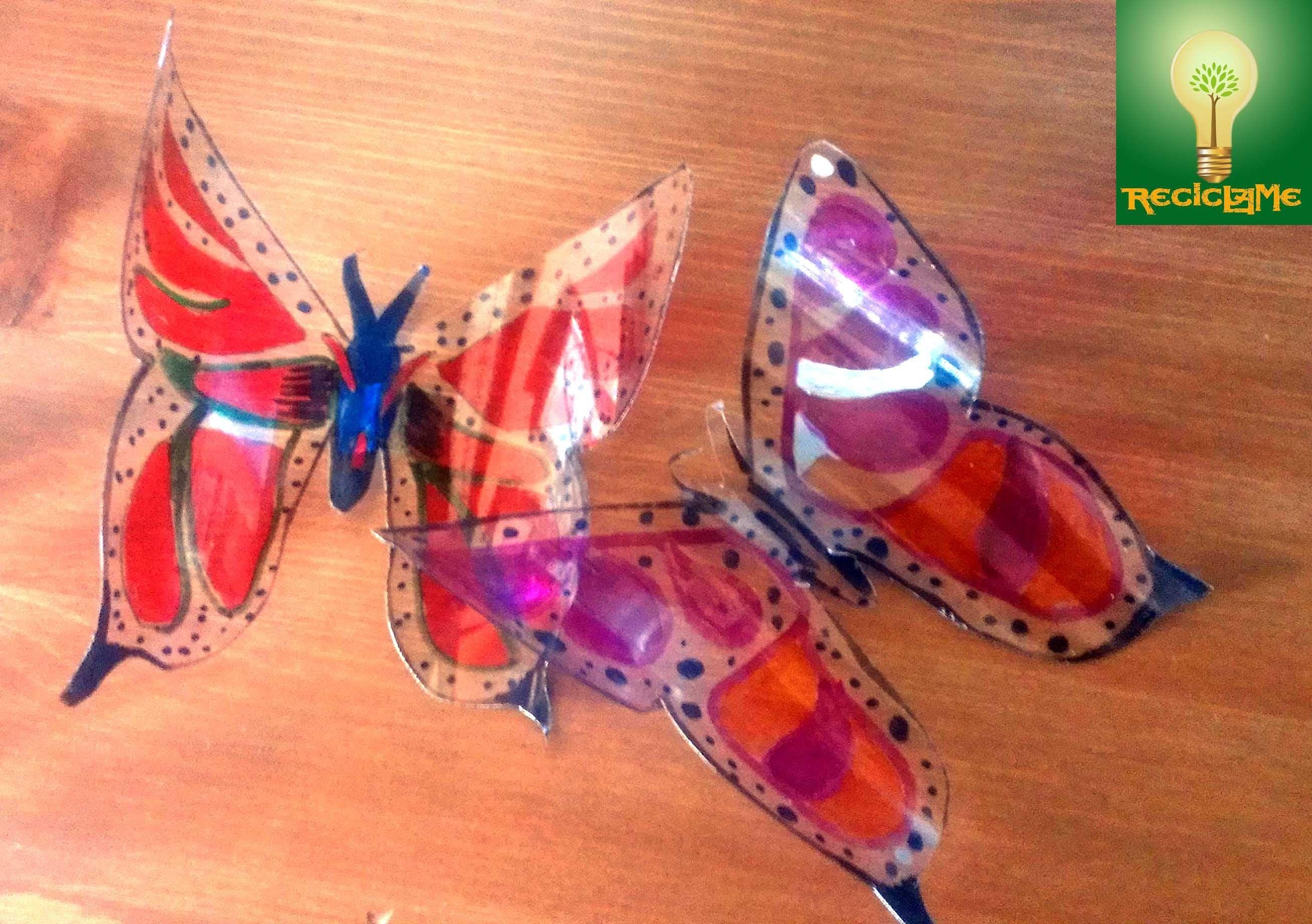 Bonitas Mariposas Pet Para Decorar Mujer Hacendosa
