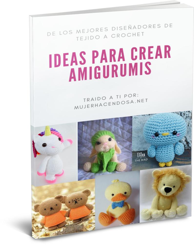 Oso, gato, chancho y conejo bebés en pijamas (crochet-amigurumi ...